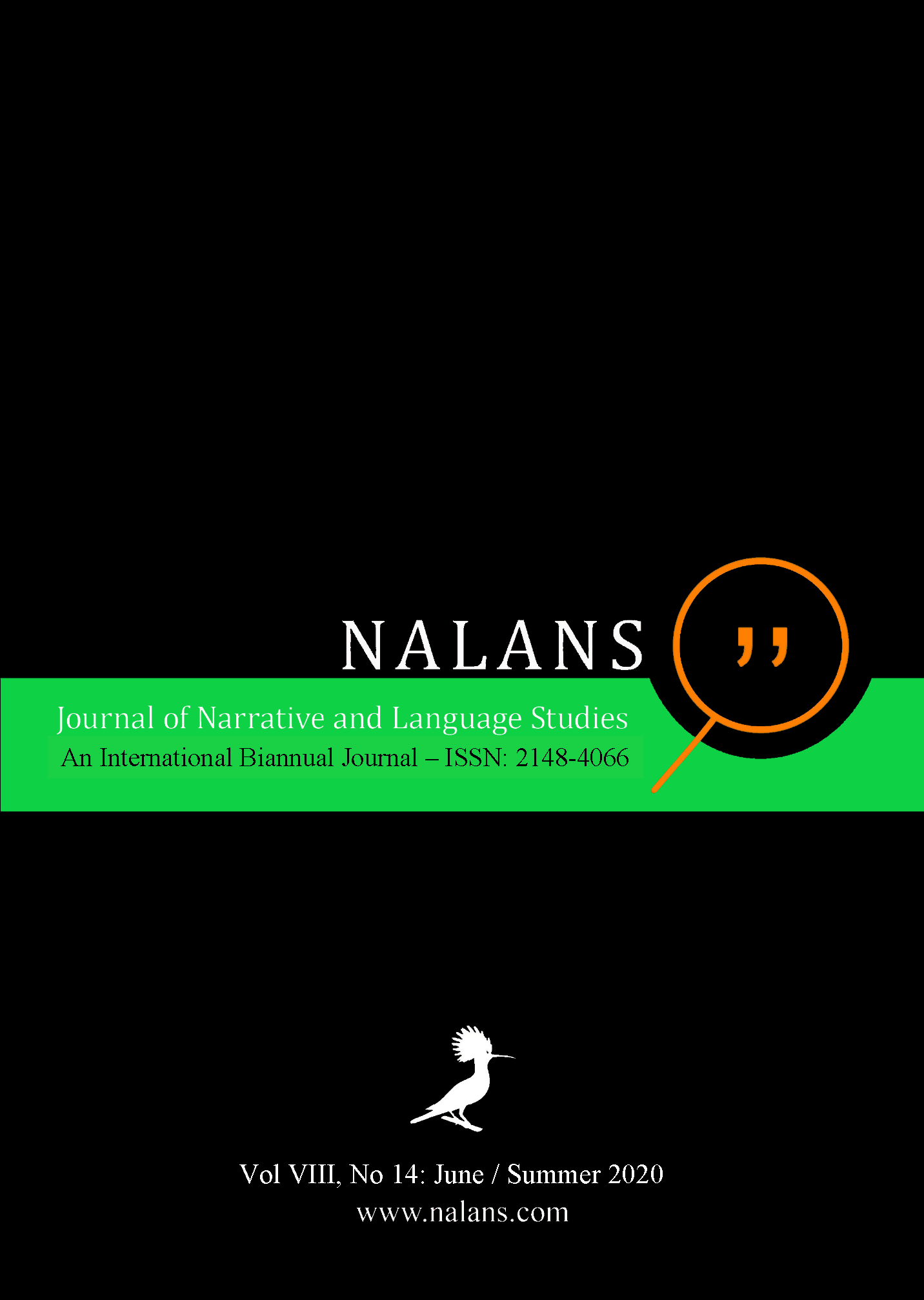 Journal of Narrative and Language Studies (NALANS)
